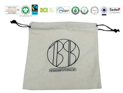 Organic Cotton Pouch Bag