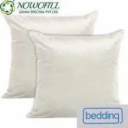 White Polyester Fibre Cushions