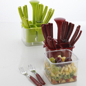 Cutlery Set With Container