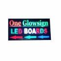 LED Glow Signage Board