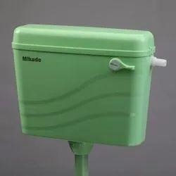PVC Green Toilet Flush Tank
