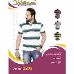 Wellman Blended Collar Lining T Shirt, Size: XXL