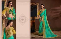 Kessi Utsav Vol-2 Series 8501-8512 Stylish Party Wear Georgette Saree