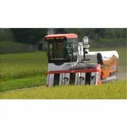 Kubota ARN 698 Combine Harvester, Capacity: 1.5 Acre/hour