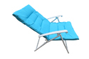 Folding Reclining Chair-Padded-Dark Blue