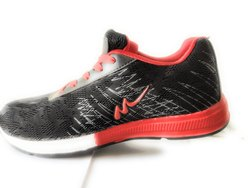 Men Black And Red Casual Shoes