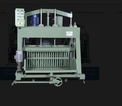 860 Double Vibrator Hydraulic Operated Concrete Block Making Machine