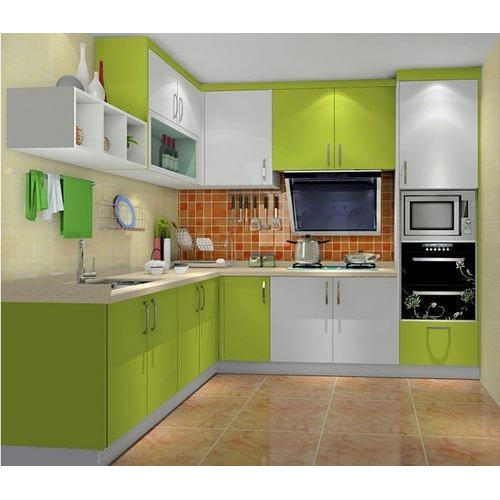 Lacquer Laminated Kitchen Cabinet Rs 30000 Unit Kapaleshwar Glass