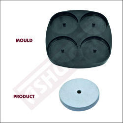 65mm X 20mm - Round Cover Block Mould for Column (4 Cavity)