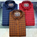 Cotton Dobby Check Shirt