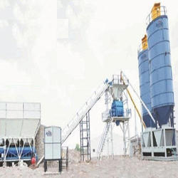Concrete Batching Plant with Wide Wheel Base