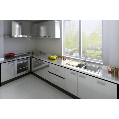 Modular Kitchen Solutions: Manufacturer Of Modular Kitchen & Designer Wallpaper By