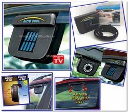 Solar Power Car Air Vent Cooling Fan Window Fan Auto Ventilator Air Cooler System