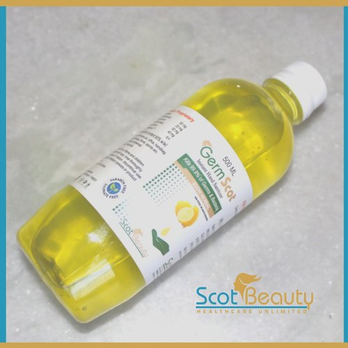 IPA Base Hand Sanitizer 500mL  - Germscot By Scotbeauty