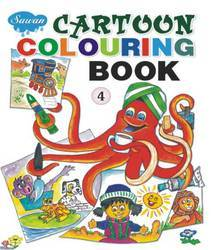 Cartoon Coloring Book 4