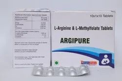 L-Arginine 1gm L-Methylfolate 0.5 Mg