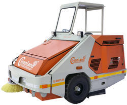 Hire Sweeping Machine on Rent