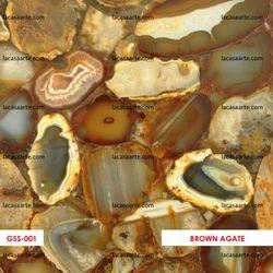 Brown Agate Slabs & Tiles