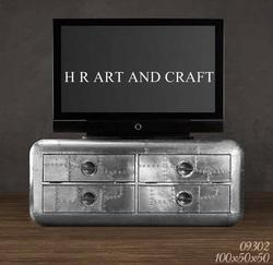 Antique Iron T.V.Stand