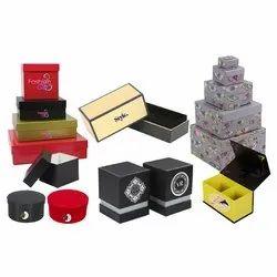 Solid Board Box Paper Rigid Box Printing Service, In Delhi
