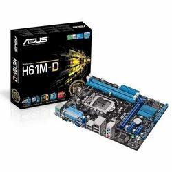 ASUS H61 Desktop Motherboard at Rs 2900 /piece | Asus