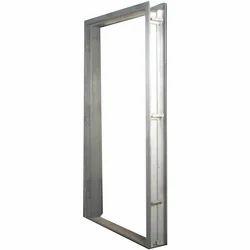 Powder Coated Mild Steel Door Frame, For Construction