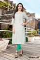Girl Beautiful Designer Flex Cotton Full Stitched Kurti