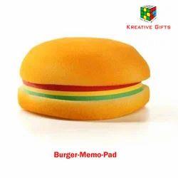 Burger Memo Pads