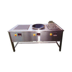 Ss 3 Induction Cooking Range, for Restaurant