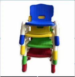 Plastic handle chair