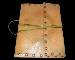Large Leather Journal Writing Notebook
