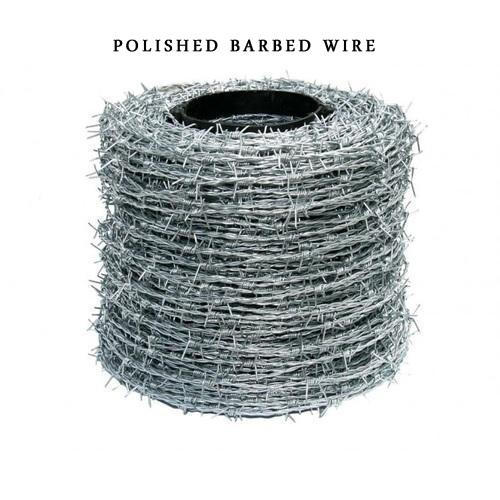 Mild Steel Polished Barbed Wire