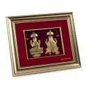 Laxmi Ganesh Gold Frame
