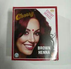 Cherry Brown hair henna