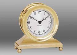 Brass Golden Finish Table Clock