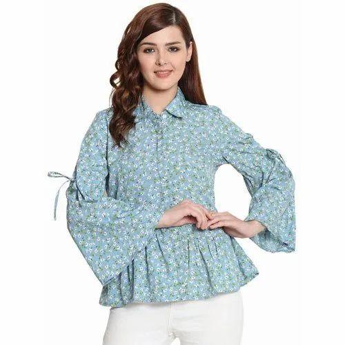 c6a29ba9f StylesBerry Heavy American Crepe Women Shirt, Rs 250 /piece | ID ...