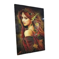Lady Print Decorative Wall Tiles