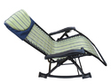 Folding Gravity Reclining Rocking Chair - GOLDEN