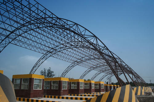 Steel Prefabricated Tubular Structure Rs 90 Kilogram