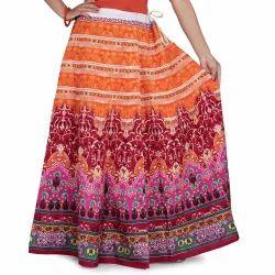 Designer Maxi Skirt
