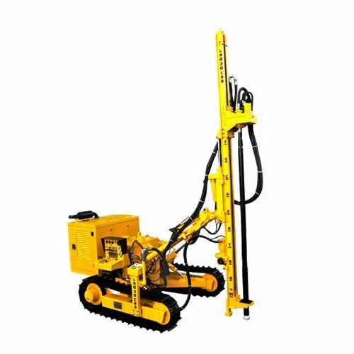 Atlas Copco Crawler Drill, For Mining, Drilling Rig Type: Slim ...