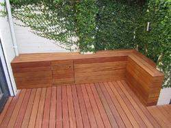 Solid Wood Outdoor Decking