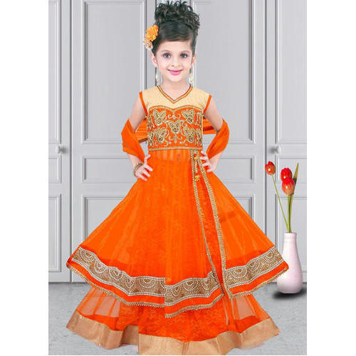 637460b9c Kids Anarkali Lehenga Suit at Rs 300  piece