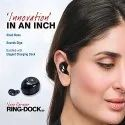 iBall Nano Earwear T9 V3.0 BT Wireless in-Ear Headset with Mic (Black)