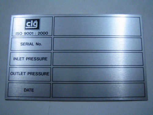 Anodised Name Plate & SS Multi Colour Name Plates Manufacturer from