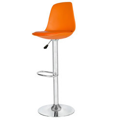 Orange Colored Bar Stool