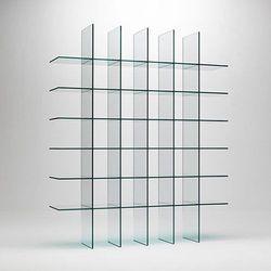 Glass Shelving Rack