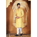 Designer Party Wear Stylish Men Kurta Pyjama