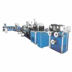 Semi Automatic Three Phase PP Rope Plant, Production Capacity: 4 Ton Per 20 Hours