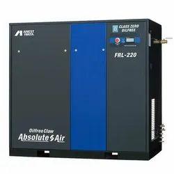 Anest Iwata FRL-220 30 HP Oil Free Claw Air Compressor